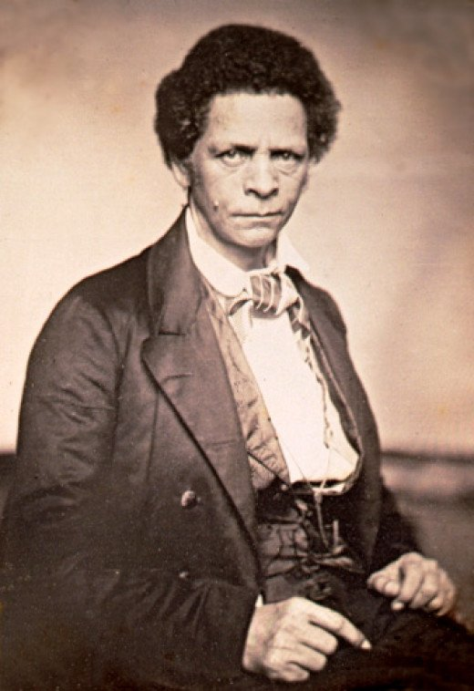 Joseph Jenkins Roberts, who became Liberia's first President in 1847.