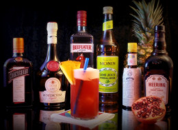 A classic cocktail called the Singapore Sling