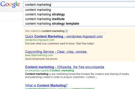 Google search results differ based on previous searches.