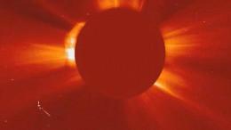 UFO near the sun