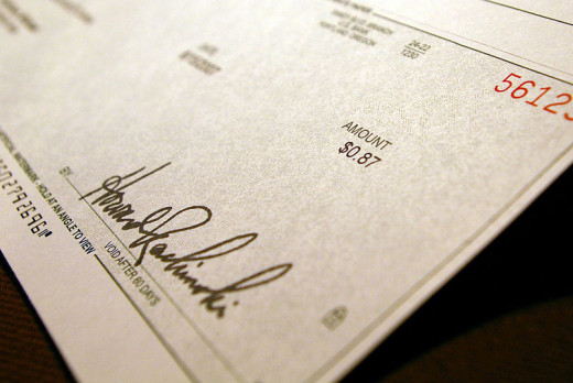 Earning a check is a great experience for homeschoolers.