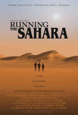Running The Sahara Movie Poster