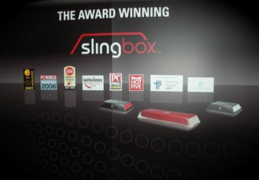 Slingbox stand