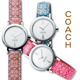 Colorful Coach ladies watches