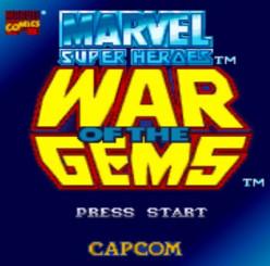 """Marvelous"" games made by Capcom before Marvel vs Capcom: Marvel Super Heroes - In War of the Gems"