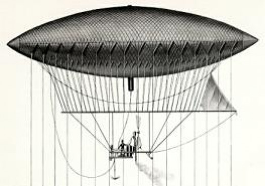 Giffards dirigible