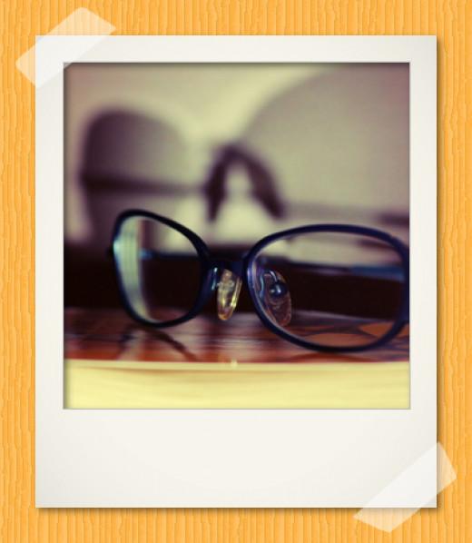 Polaroid photo made in GIMP 2.8