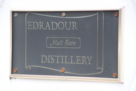 The Malt Barn at the Edradour Distillery