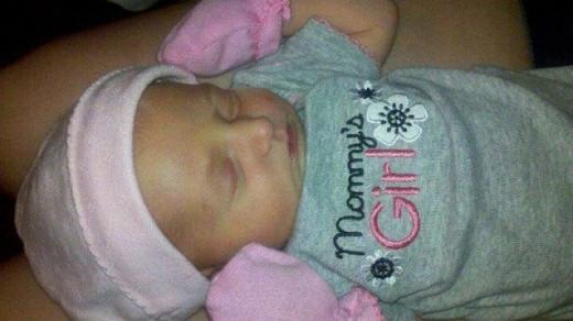 My beautiful baby girl