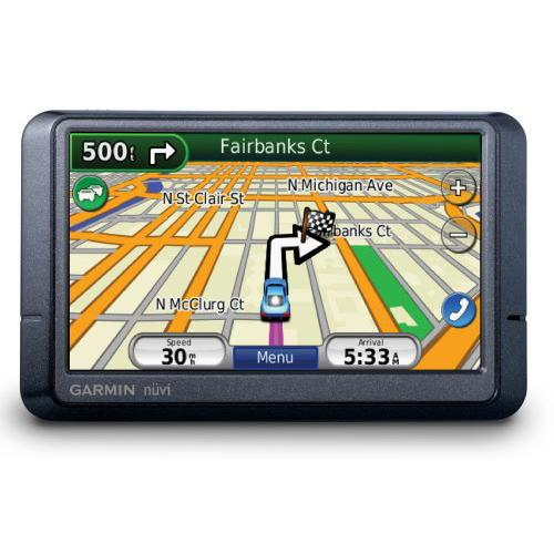 Seen above is an example of an GPS system for your motor vehicle.