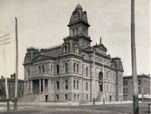 Allen County Courthouse, Lima, Ohio