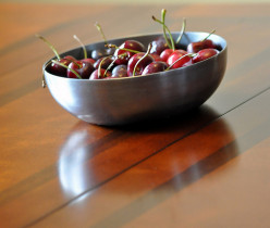 Cherries help fight cancer by helping cancer cells commit suicide.  Source: the book Anti-Cancer (see resources below).