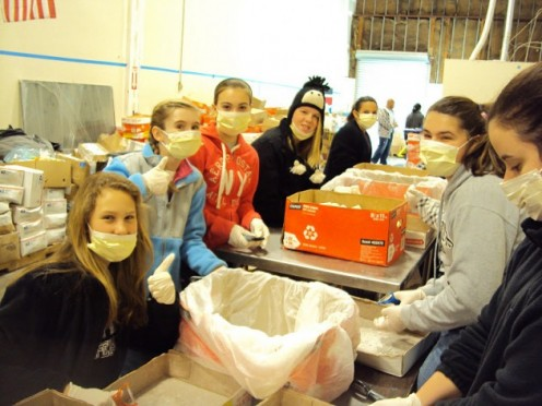 Photo: Global Soap Project Volunteers Prepare Repurposed Soap for Shipping Out to Those in Need