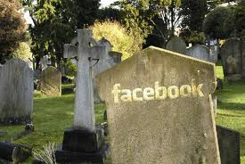 Some critics of Facebook are already making plans to visit Facebook's grave.
