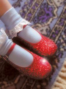 Children's costume slippers.