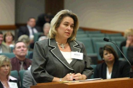 Lisa Salazar, former board president.