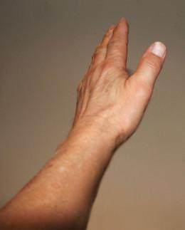 Image: Left Hand Wave