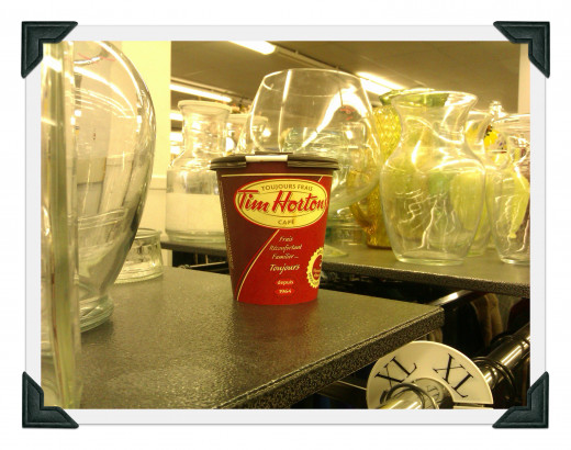 Tim Hortons Coffee GENERATES one's day.