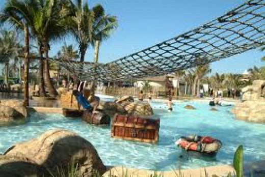 Theme Park and Water world