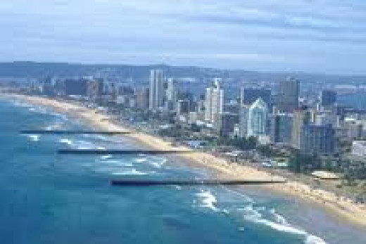 Marine Parade Durban Beachfront
