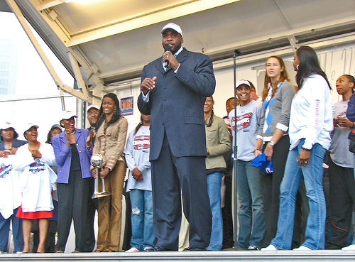 Former Detroit mayor Kwame Kilpatrick was re-elected even after scandal and corruption stories emerged surrounding his leadership of Detroit.