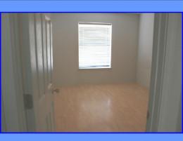 Perigo floors and double closet in second bedroom.