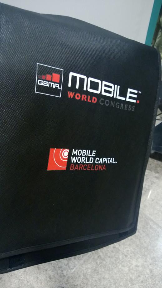 'Man Bag' issued at WMC Registration