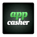 This is the official Appcasher logo. You can see this logo if you add Appcasher to your homescreen.
