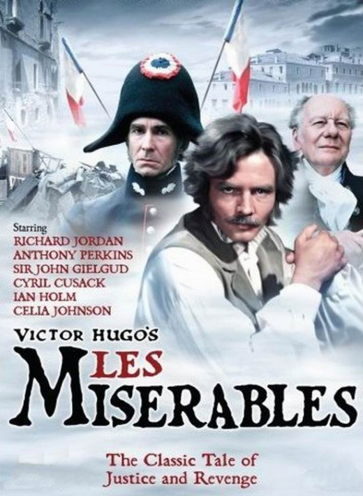 Les Miserables (1978) poster