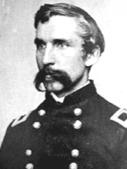 a biography of joshua l chamberlain and a history of the battle of gettysburg