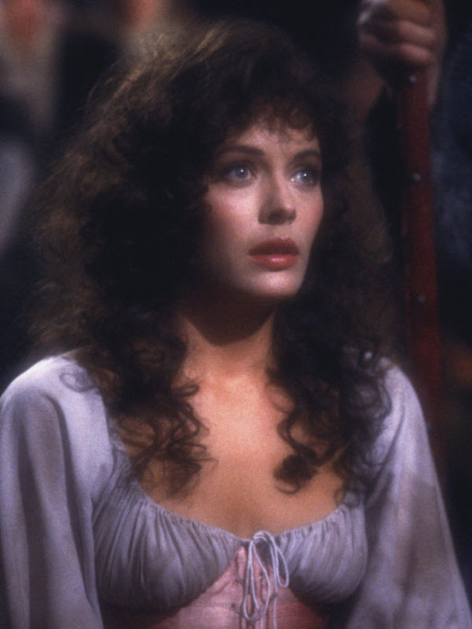 Lesley-Anne Down in The Hunchback of Notre Dame (1982)