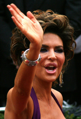 Actress Lisa Rinna is known for her lips, which have been enlarged and reduced through cosmetic procedures.