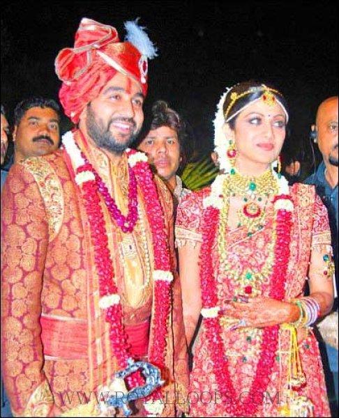 Indian Bride in a Bridal Saree