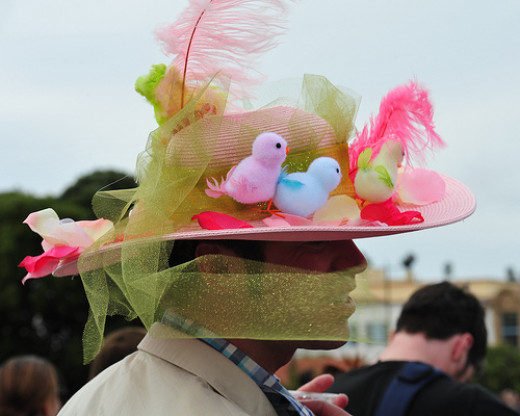 Funny Easter hat