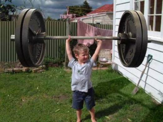 Strength in weakness.