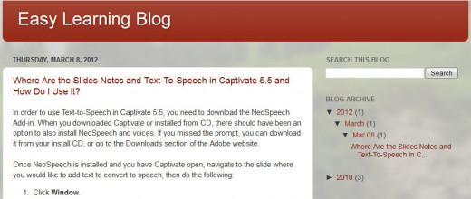 Easy Learning Blog
