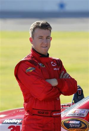 A.J. Allmendinger promo shot for Phoenix Racing