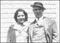 Billie Frechette and John Dillinger