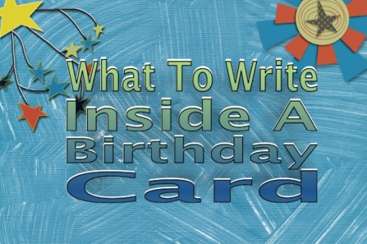 what to write inside a birthday card  hubpages, Birthday card