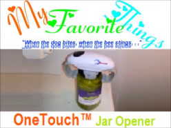My Favorite Things [2]: Battery-powered Jar Opener by OneTouch™