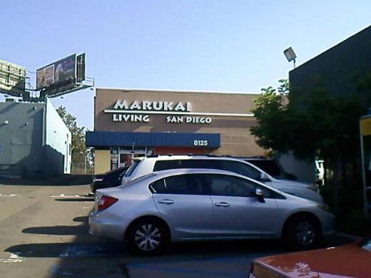 Marukai Living, next to Marukai Value Plus.
