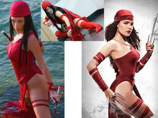 Classic Elektra Cosplay Costumes