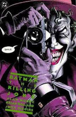 The cover of Alan Moore's The Killing Joke.