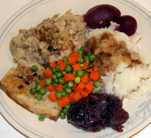 Image: Vegetarian Stuffing with Vegetarian Meal
