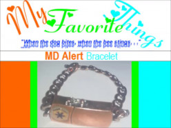 My Favorite Things [8]: PCH MD Alert™ bracelet