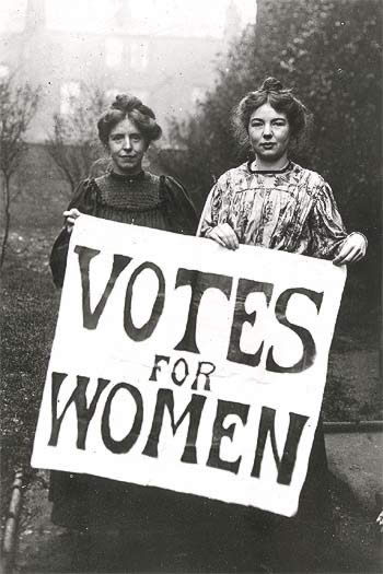 In the past, these women may have been considered abnormal for going against the societies views!