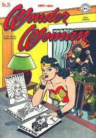 An early Wonder Woman comic.