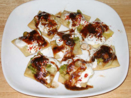 Tasty and Tangy Indian Street Food Papri Chaat