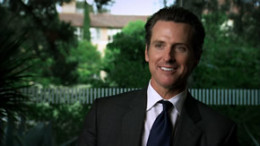 California Lt. Governor Gavin Newsome