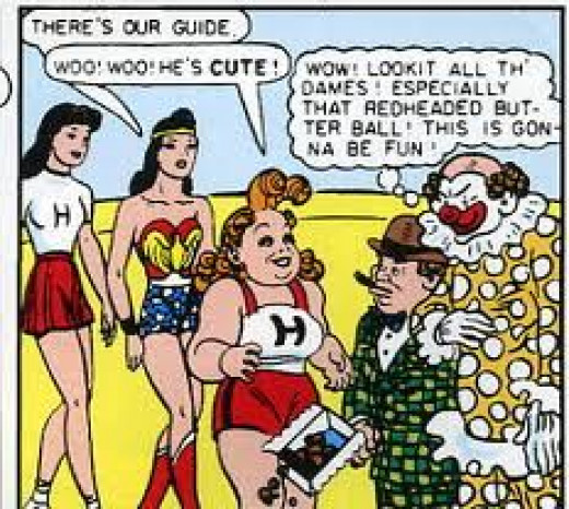Wonder Woman with Etta Candy